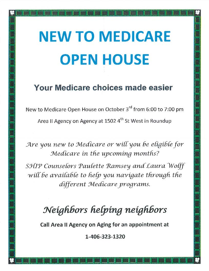 medicare open house