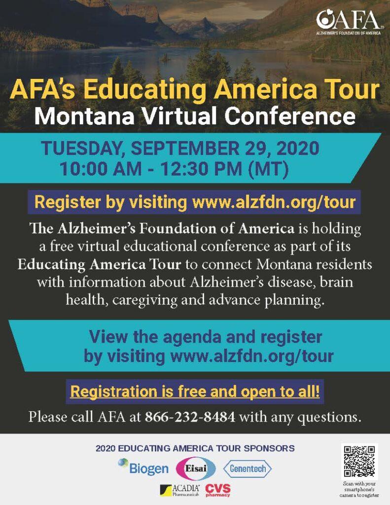 AFA Montana Virtual Conference